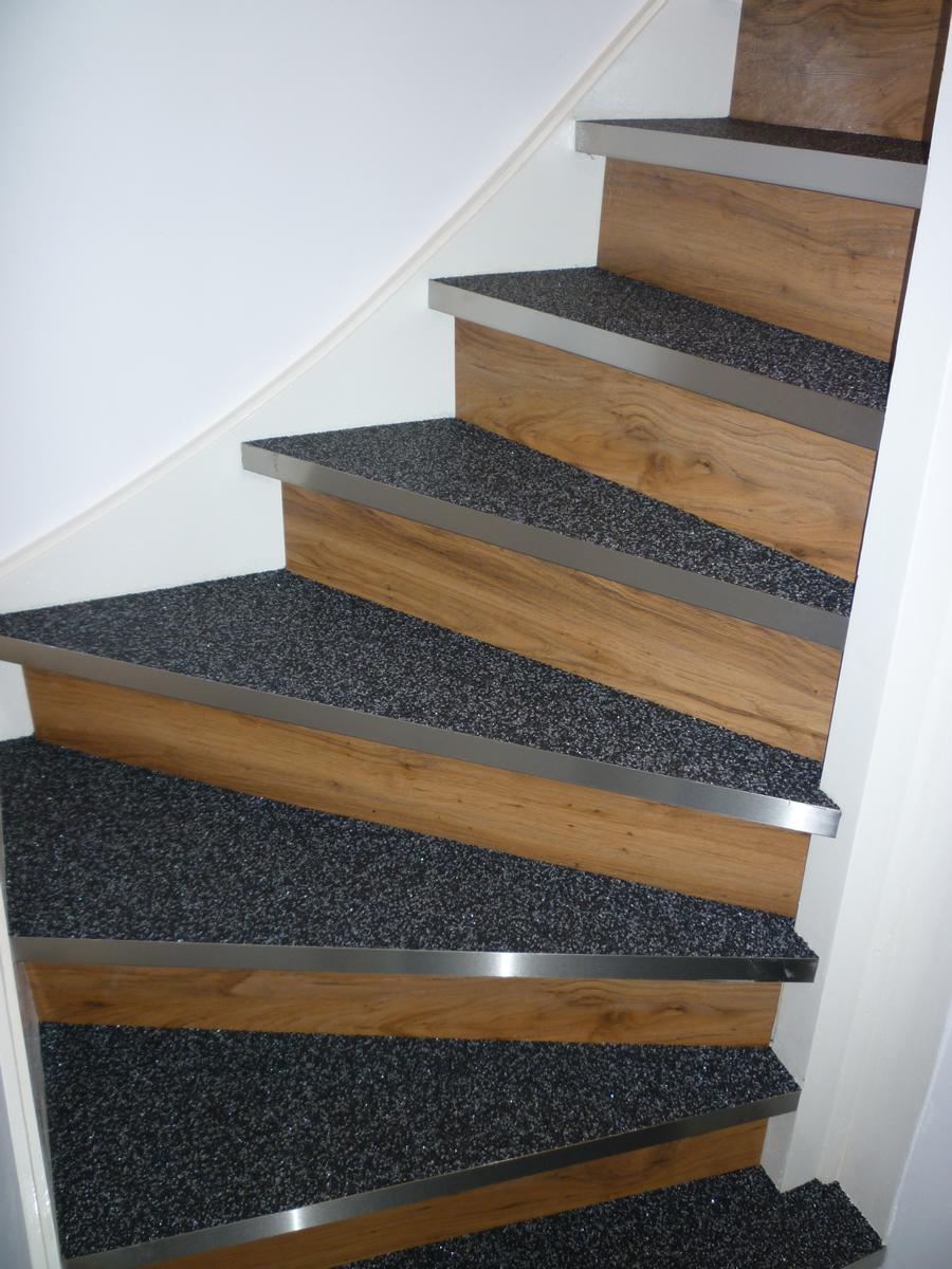 Steinteppich Treppe für treppenrenovierungen steinteppichspezialist